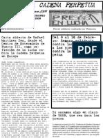 Boletin Contra La Cadena Perpetua Febrero 2009