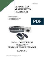 Definisi Dan Karakteristik Hardware Ogi Nh