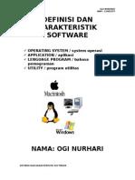 Definisi Dan Karakteristik Software Ogi Nh