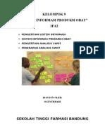 Sistem Informasi Produksi Obat