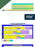Calendar of Activity 2013