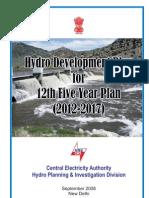Hydro Develop 12th Plan