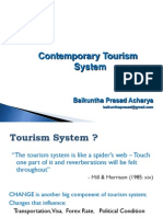 1.2 Contemporary Tourism System(1)