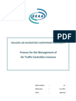 Process for the Management of Air Traffic Controllers Licences, Εdition_2_ 21022013