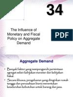 kebijakan fiskal dan moneter pada agregat demand
