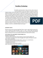 Pdf screen on seminar touch technology