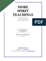 More Spirit Teachings via Rev. William Stainton Moses (1840-1892)