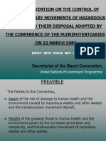 Articles of the Basel Convention