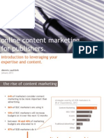 Content Marketing for Publishers