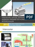2012-01-27 Pressure Gauge dengan Katup sebagai Parameter Kondisi Intercooler