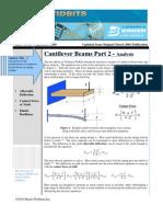 Cantilever Beam Analysis