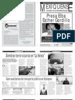 Versión impresa del periódico El mexiquense 27 febrero 2013