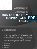 How to Develop Communication Skills
