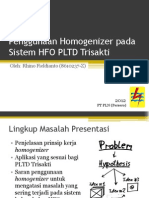 2012-04-12 Penggunaan Homogenizer Pada Sistem HFO