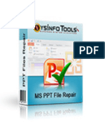 MS PowerPoint PPT Repair Software
