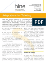 Adaptations for Toileting - Spina Bifida