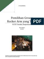 2013-01-31 Pemilihan Grease Rocker Arm Yang Tepat
