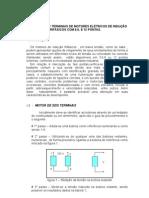 IDENTIFICAÇÃO DE TERMINAIS DE MOTORES ELÉTRICOS DE INDUÇÃO TRIFÁSICOS COM 6