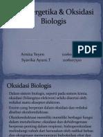 Vika, Oksidasi Biologis