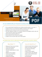 Product Brochure of Odishy Financial Accounting Software
