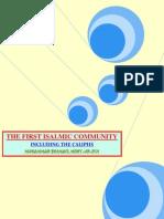 The Islamic Community + Caliphs