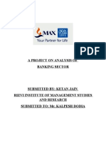 ANALYSIS of Banking Sector