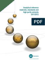 Catálogo LGC Standards