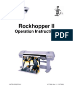 Operation Instructions - Rockhopper II - English