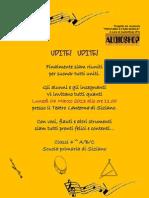 Invito Saggio Musica - classi quarte - Scuola Primaria