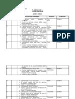 Planificaion Educacion Fisica Clase a Clase 5to