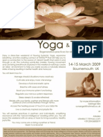 Yoga & Tantsu Weekend in Bournemouth