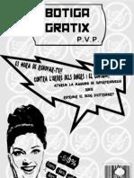 Flyer Botiga Gratix (Delantero)