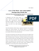 igus robust iglidur bearings help smooth ride