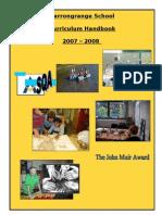 07.08 Curric Handbook