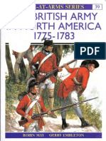 Osprey, Men-At-Arms #039 the British Army in North America 1775-1783 (1998) (-) OCR 8.12