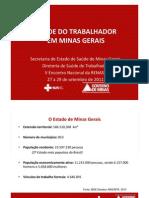 Apresentacao - Saude Do Trabalhador Em Minas Gerais_Eliane Elice_29!09!11 -Modo de Compatibilidade