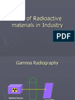 Uses of Radioactive materials in Industry.ppt