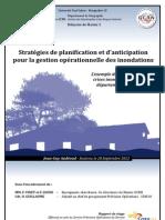 Mémoire - Gestion opérationnelle des inondations dans le Gard - stratégies de planification et d'anticipation