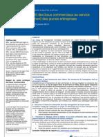 Un financement des baux commerciaux au service du développement des jeunes entreprises - Rapport du 24 janvier 2013