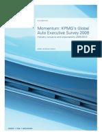 Momentum - KPMG's Auto Executive Survey 2009