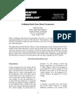 Defining Diode Data Sheet Parameters - Microsemi