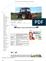 Tractor India, Tractor in India, Tractor Industry in India, Indian Tractor Industry