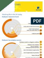 Aviva's Working Lives infographic - February 2013