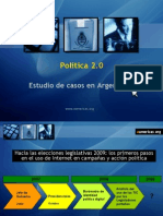 Campañas argentinas en Internet 2007 y 2008 - Por Natalia Fidel