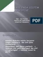 Degenerasi Pada Sistem Digestive