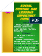 N C E R T Social Science Important Points  Class 7 free download