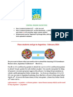 Central Region Incentives