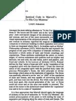 Sydney Studies on Alchemical Code