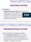 4organizational Buying