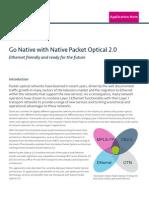 Native Packet Optical 2.0